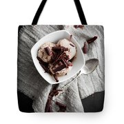 Chocolate Ice Cream Tote Bag