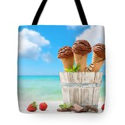 Chocolate Icecreams Tote Bag