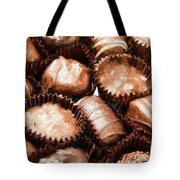 Chocolate Makes The World Go Around Tote Bag