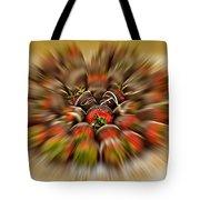 Chocolate Strawberry Rush Tote Bag