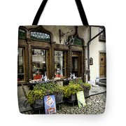 Chocolatier In Gruyeres Tote Bag
