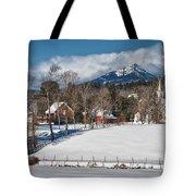 Chocorua - Where The Mountain Meets The Town Tote Bag