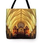Choir Loft At Saint Josephs Cathedral Buffalo New York Tote Bag