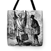 Cholera In Slums, 1866 Tote Bag