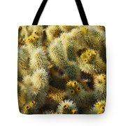 Cholla Cactus Garden Mirage Tote Bag