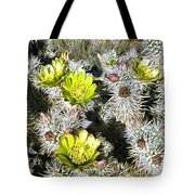 Cholla Flowers Tote Bag
