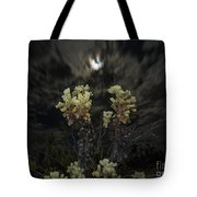 Cholla Light - Joshua Tree National Park Tote Bag