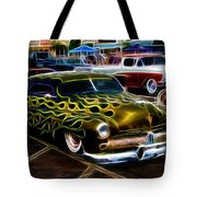 Chopped And Flamed Tote Bag