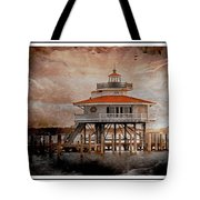 Choptank River Lighthouse Tote Bag