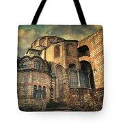 Chora Church Tote Bag by Taylan Apukovska