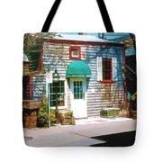Chowder House Rockport Ma Tote Bag