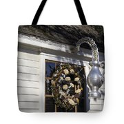 Chownings Tavern Wreath Tote Bag