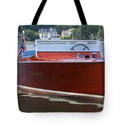 Chris Crafted Tote Bag