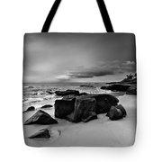 Chris's Rock 2013 Black And White Tote Bag