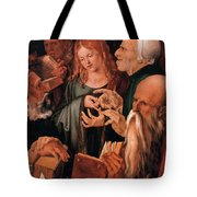 Christ Among The Doctors Tote Bag