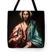 Christ As Savior Tote Bag