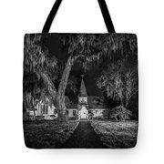 Christ Church Bw Tote Bag