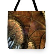 Christ Church Cathedral Roof Detail Tote Bag