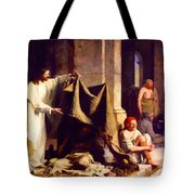Christ Healing The Sick  Tote Bag