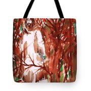 Christ In The Forest Tote Bag