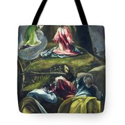 Christ In The Garden Of Olives Tote Bag
