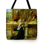 Christ In The House Of His Parents Tote Bag
