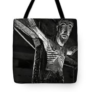 Christ Of Salardu - Bw Tote Bag