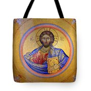 Christ Pantocrator -- No.4 Tote Bag