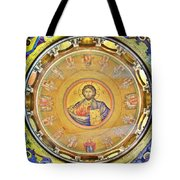 Christ Pantocrator -- Church Of The Holy Sepulchre Tote Bag