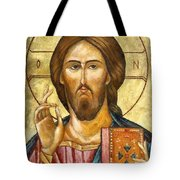 Christ Pantocrator Tote Bag