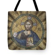 Christ Pantocrator Surrounded By The Prophets Of The Old Testament 2 Tote Bag