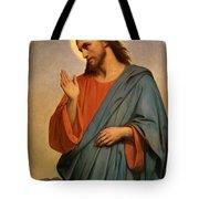 Christ Weeping Over Jerusalem Ary Scheffer Tote Bag