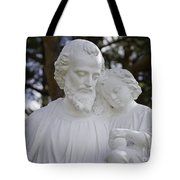 Christ With A Child Tote Bag