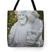 Christ With Child Tote Bag