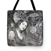 Christan Portrait Tote Bag