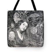 Christan Portrait Tote Bag