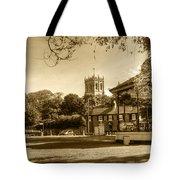 Christchurch Village Green Tote Bag