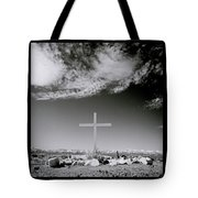 Christian Grave Tote Bag