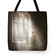 Christian - Heavenly Father Tote Bag by Mike Savad