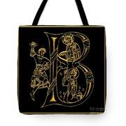Christian Initial Letter B Tote Bag