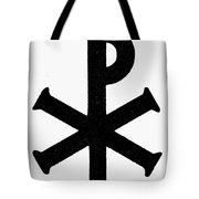 Christian Monogram Tote Bag