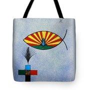 Fish Of Creation Tote Bag