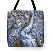 Christine Falls In Mount Rainier National Park Tote Bag