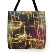 Christmas Abstract V Tote Bag
