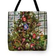 Christmas - An American Christmas Tote Bag