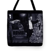 Christmas At Dracula's Tote Bag