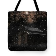 Christmas At The Homestead Tote Bag