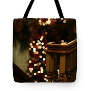 Christmas Banister 1 Tote Bag