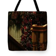 Christmas Banister 2 Tote Bag