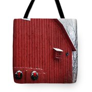 Christmas Barn 4 Tote Bag